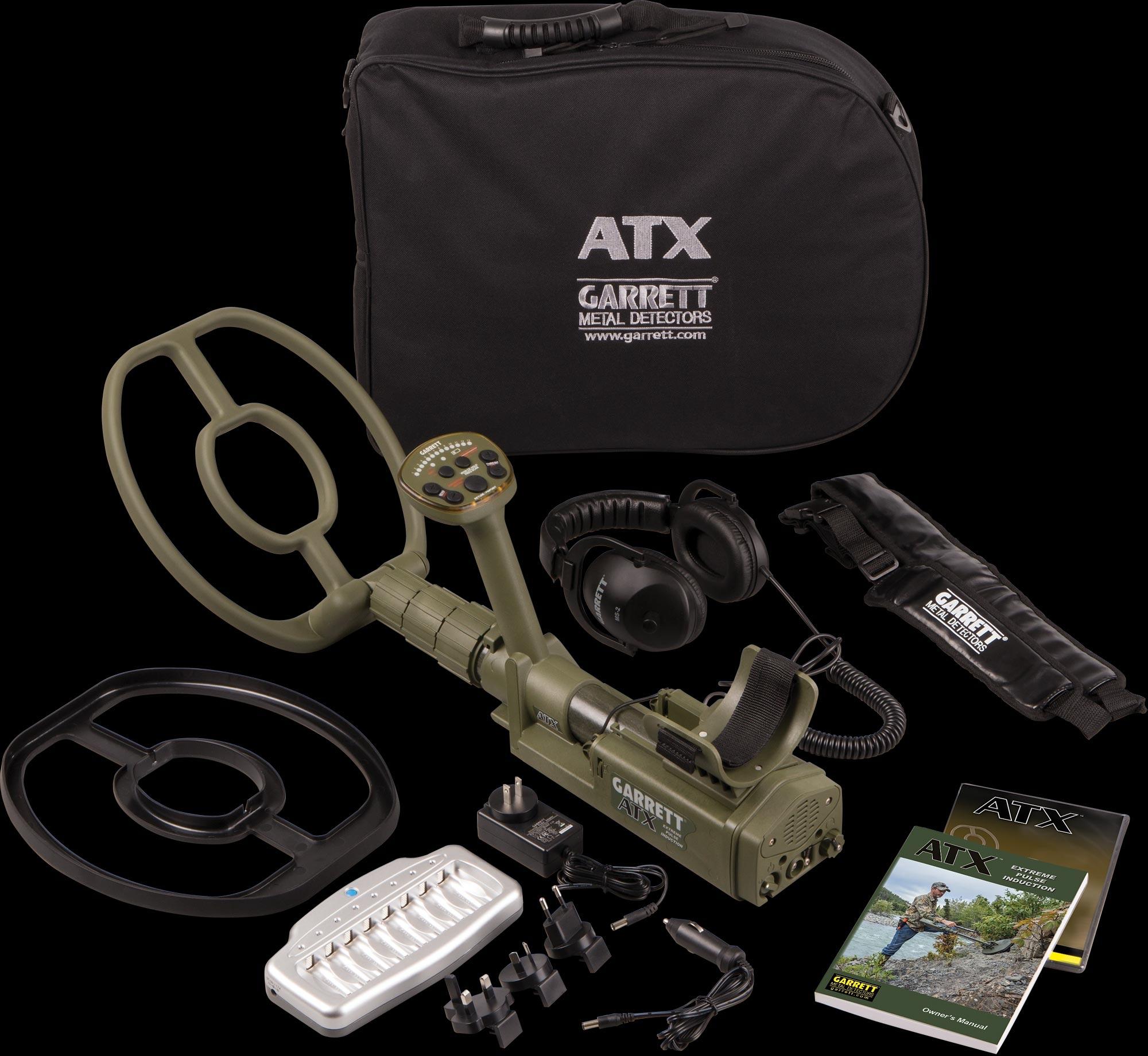 tecnolog/ía de inducci/ón pulsada /Detector de metales ATX para buscar oro Garrett/